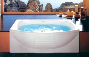 Acrylic bathtubs photo