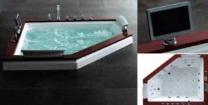 corner bathtub whirlpool