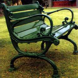 Garden bench | Kris Allen Daily