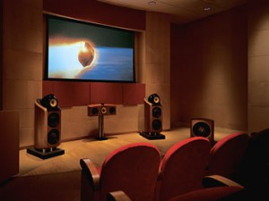 home theater systems photo