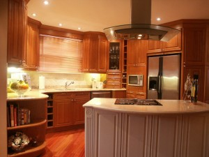 ikea wood kitchen cabinet
