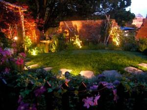 solar garden lights image