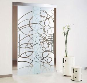 Glass doors photo