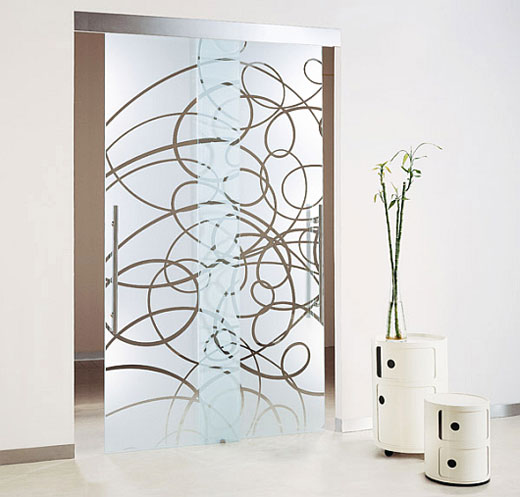 Glass doors photo