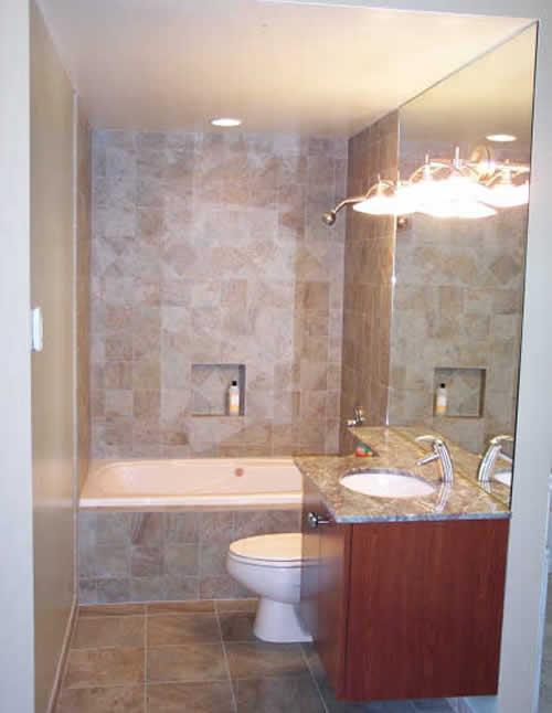 Small bathroom ideas photo