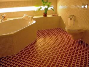 bathroom tile flooring designs