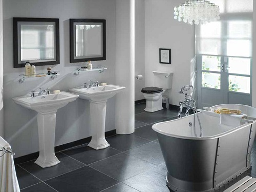 modern bathrooms photo