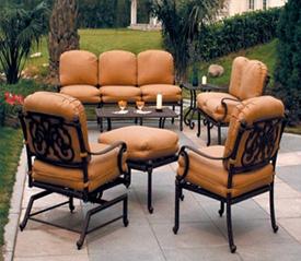 Outdoor patio furniture Kris Allen Daily