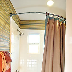 Shower curtain rods | Kris Allen Daily