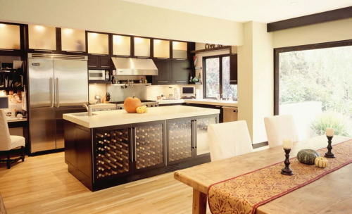 best kitchen design. kitchen design picture of mixing materials