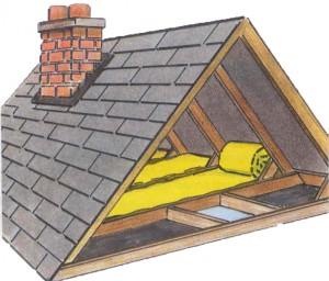attic insulation picture