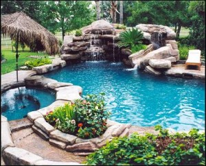 Inground Swimming Pool Landscaping - Home Ideas Designs