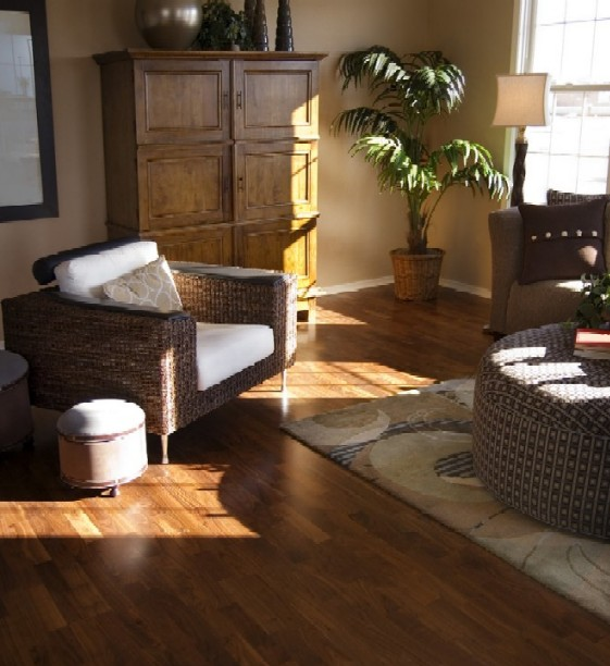 living room flooring which material is the best
