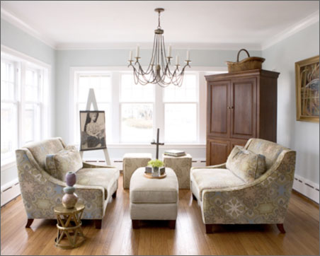 Living room chandelier: Crystal look elegant | Kris Allen Daily