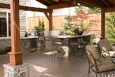 outdoor kitchens pictures