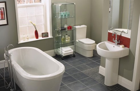 Gallery For Simple Bathroom Design