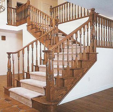 stair railings interior
