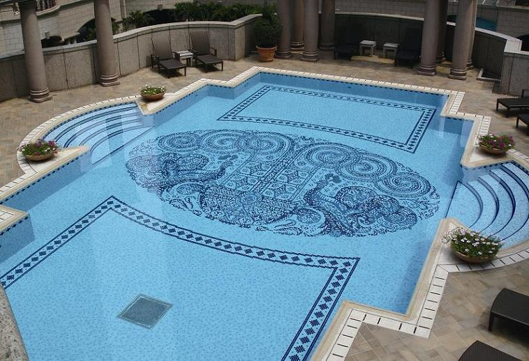 Swimming pool designs kris allen daily for Pool design tiles