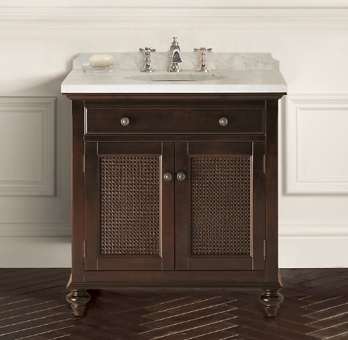traditional bathroom vanities and cabinets