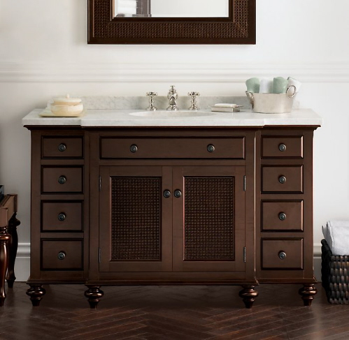 Small Bathroom Cabinets on Traditional Bathroom Vanities   Kris Allen Daily