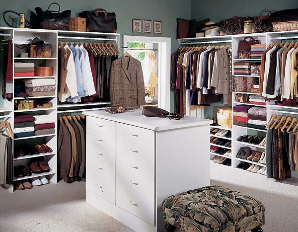walk in closet design ideas