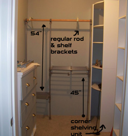 17 clever and functional closet anization s diy ideas