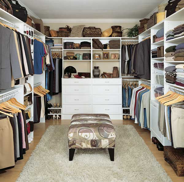 Walk in closet design plan your work kris allen daily - Pictures of walk in closets ...