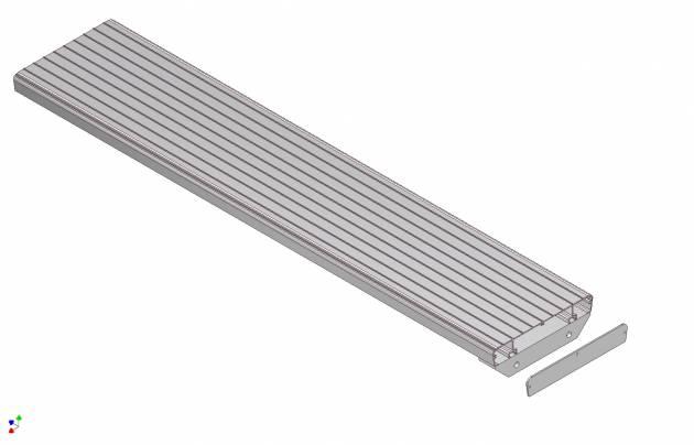 aluminium stair treads picture