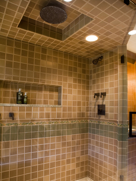 Tile bathroom ceiling images for Bathroom ceiling ideas