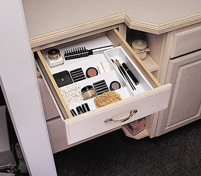 bathroom drawer organizers pictures