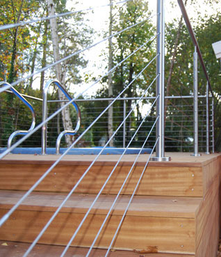 cable stair railings ideas