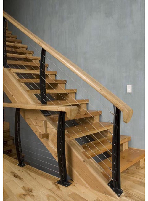 cable stair railings what to consider kris allen daily On cable stairs