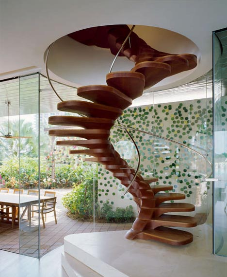 spiral staircase design idea