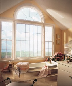 Bathroom windows, treatment tips