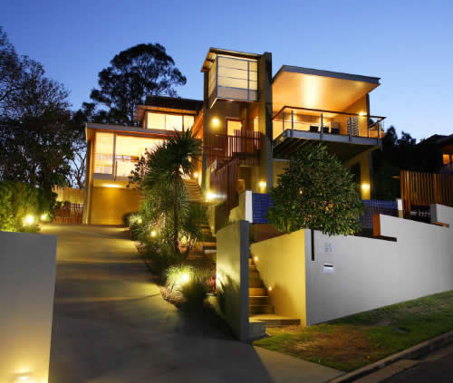 contemporary outdoor lighting pictures