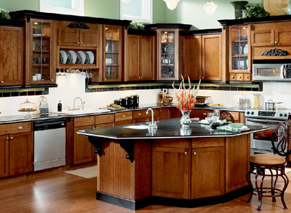 custom kitchen cabinets pictures