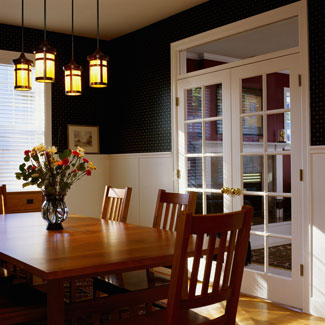 Decorating ideas for dining room walls architecture design for Dining room wall design