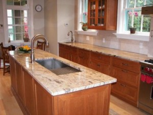 countertops with innovative slab edge detail