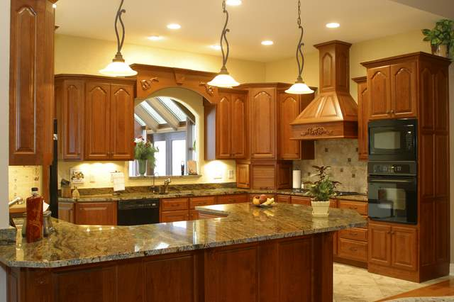 marble kitchen countertops pictures