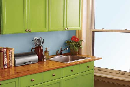 painting kitchen cabinets picture