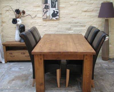 Rustic Dining Room Tables Pictures