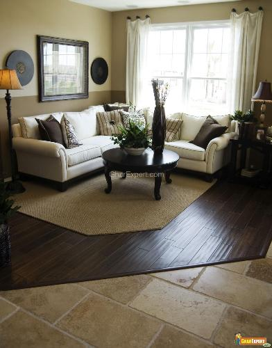 Flooring ideas for living room kris allen daily for Tile floor designs for living rooms