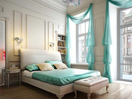 Bedroom Curtain Design pictures