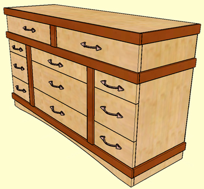 Plans For Bedroom Dresser
