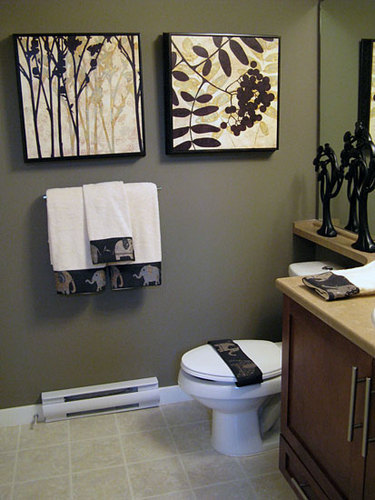 Ideas To Decorate Bathroom ideas for an impressive powder room. bathroom decorating ideas