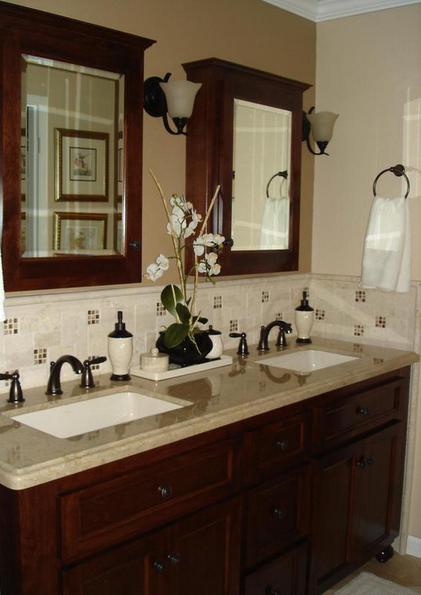 Bathroom decorating ideas inspire you to get the best bathroom kris allen daily for Inexpensive bathroom vanity ideas