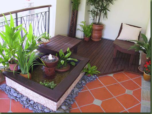 Balcony garden ideas modern home exteriors for Landscaping ideas for small balconies