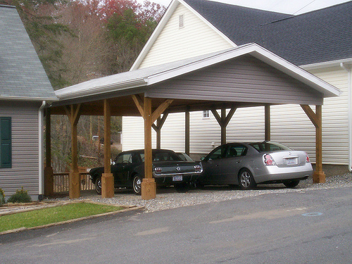Download how to build a wooden carport plans free for Timber carport plans
