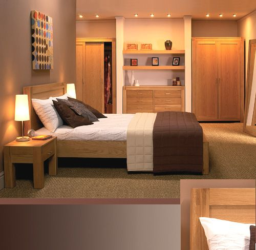 Pics for modern oak bedroom furniture for Oak bedroom furniture