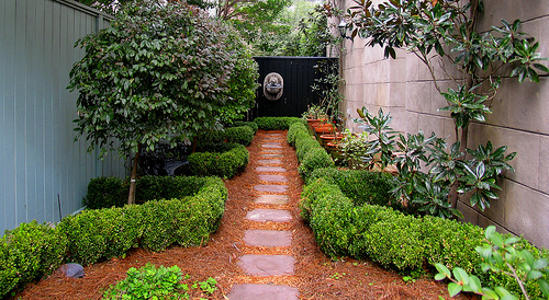 Simple small backyard ideas various design for Easy backyard landscape ideas